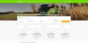 flixbus.nl website